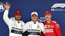 Bottas firma la pole position, in Cina è prima fila tutta Mercedes