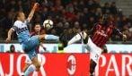 Serie A, le immagini di Milan-Lazio