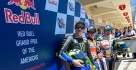 MotoGP, Marquez in pole, Rossi e Crutchlow in prima fila