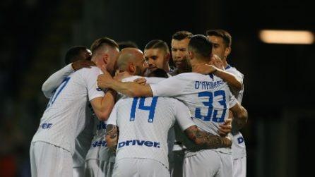 Serie A 2018/2019, le immagini di Frosinone-Inter