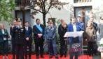 Monza, il ministro Salvini inaugura il comando provinciale dei carabinieri