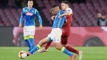 Europa League 2018/2019, ritorno dei quarti di finale: le immagini di Napoli-Arsenal