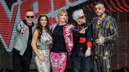 The Voice of Italy: i look dei coach per la conferenza stampa