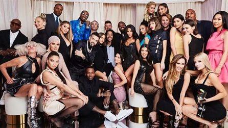 La festa per i 40 anni di Kourtney Kardashian