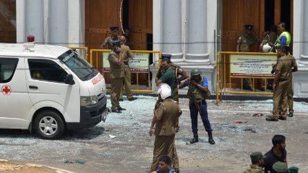 Esplosioni Sri Lanka, le immagini degli edifici colpiti