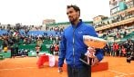 Fabio Fognini ha vinto il torneo di Montecarlo