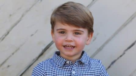 Le foto ufficiali del principe Louis, il terzo figlio di William e Kate