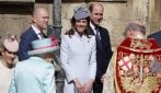 La Royal Family alla messa di Pasqua 2019