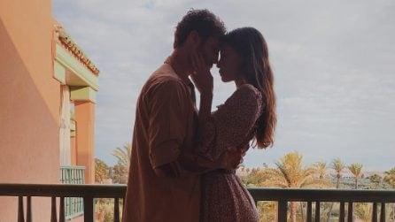 Belén Rodriguez, i look per il viaggio in Marocco con Stefano De Martino