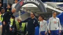 Maurizio Sarri espulso col Burnley e sotto indagine della FA