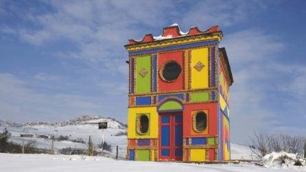 Nella chiesa più colorata d'Italia