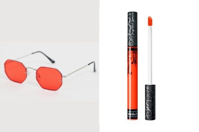 Occhiali da sole: Asos Rossetto: Kat Von D - Everlasting Liquid Lipstick (A-Go-Go)