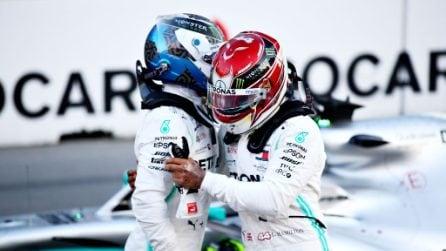 Baku si tinge d'argento Mercedes, la pole è di Bottas davanti a Hamilton e Vettel