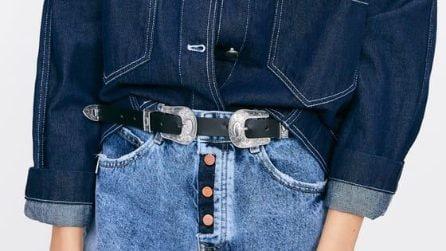 L'accessorio del momento: la cintura con doppia fibbia