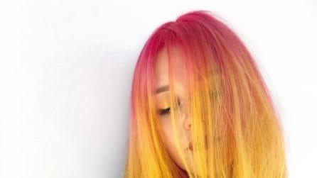 Sunset hair, il colore di capelli ispirato al tramonto