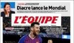 Messi esaltato dalla stampa mondiale