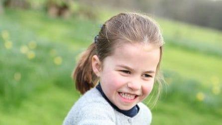 I 4 anni della principessa Charlotte