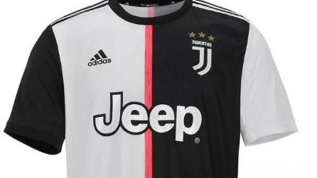 La maglia della Juventus 2019-2020