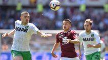 Serie A 2018/2019, le immagini di Torino-Sassuolo