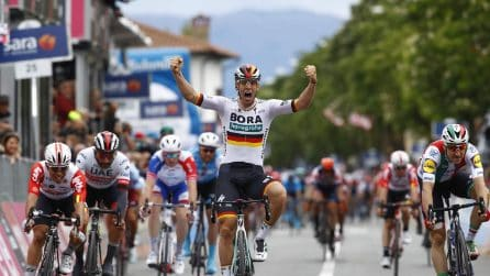 Giro d'Italia 2019, Ackermann vince la seconda tappa