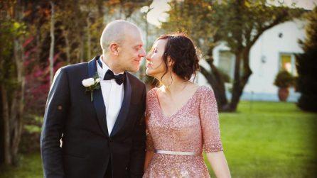 Il matrimonio di Max Pezzali e Debora Pelamatti
