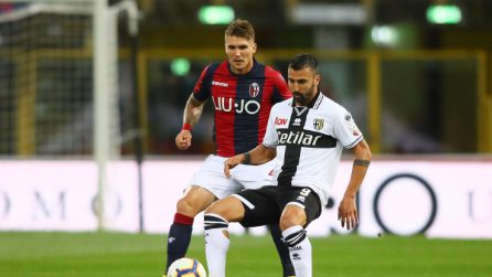 Serie A, le immagini di Bologna-Parma