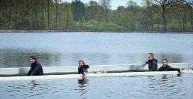 In Belgio pedalare sull'acqua si può