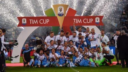 Coppa Italia 2018/2019, le immagini della finale Atalanta-Lazio