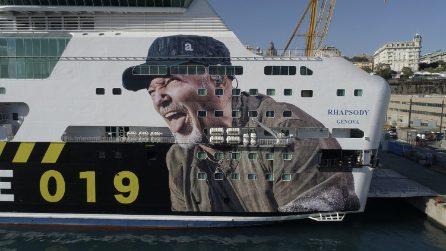 Pronta la nave per Vasco Rossi: porterà i fans in Sardegna per i due concerti del Komandante