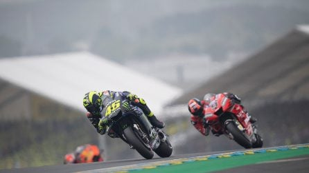 MotoGP, le foto di Valentino Rossi a Le Mans