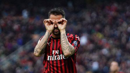 Serie A 2018/2019, le immagini di Milan-Frosinone