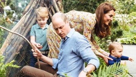 Le dolci foto della famiglia di William e Kate