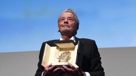 Cannes 2019, Alain Delon riceve la Palma d'Oro alla carriera