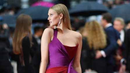 Toni Garrn, l'incidente hot sul red carpet del Festival di Cannes