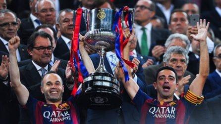 Xavi si ritira, l'ultimo match dell'ex stella del Barcellona