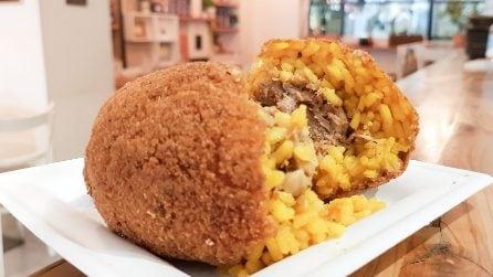 Milano, la provocazione del locale siciliano: il risotto con l'ossobuco diventa un arancino