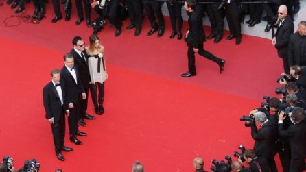 A Cannes DiCaprio, Pitt, Margot Robbie e Tarantino: che quartetto sul red carpet