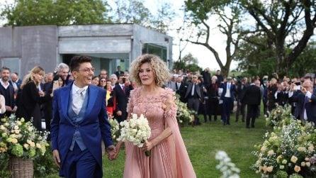 Eva Grimaldi e Imma Battaglia, tutte le foto del matrimonio