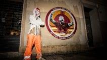 Testaccio, nella notte compare un murales in omaggio a Daniele De Rossi