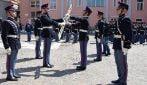 Scuola militare Nunziatella, la cerimonia del Mak P 100