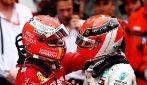 Hamilton vince a Monaco nel segno di Lauda, Vettel 2° davanti a Bottas