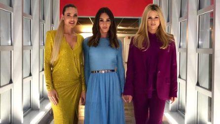 """Dalla Blasi alla Toffanin, le """"moderne Spice Girls"""" alla finale di Amici"""