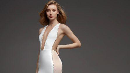 Abiti da sposa effetto nude, il sexy trend del 2019