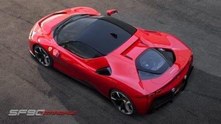 Ibrida da 1000 Cv e con lo sguardo rivolto al futuro, ecco la Ferrari SF90 Stradale