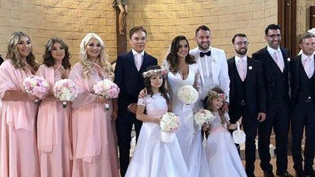 Le foto del matrimonio di Alessia Macari e Oliver Kragl