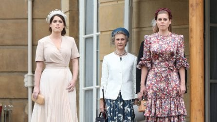 Beatrice ed Eugenie di York al Garden Party a Buckingham Palace