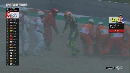 MotoGP, le foto di Valentino Rossi al Mugello