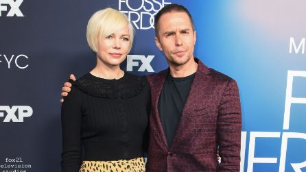 Michelle Williams con il pixie cut