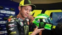 Valentino Rossi, casco speciale per il Mugello