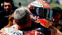 MotoGP, Marquez in pole al Mugello, 18° Rossi